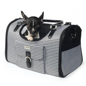 Сумка-переноска для собак и кошек Triol Классика, размер 40х26х20см.