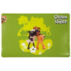 Коврик под миску Trixie Shaun the sheep, размер 44х28см., зеленый