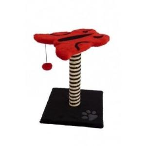 Когтеточка для кошек Papillon Cat scratcher papillon red/black, размер  43х33х33см.