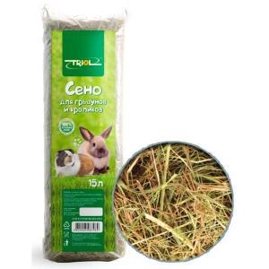 Сено для грызунов Triol, 500 г, 15 л