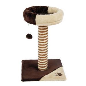 Игровой комплекс для кошек Triol CT31, размер 40x40x59см., кор / бежевая