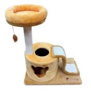 Домик-когтеточка для кошек Triol Simba, размер 69х45х80см.
