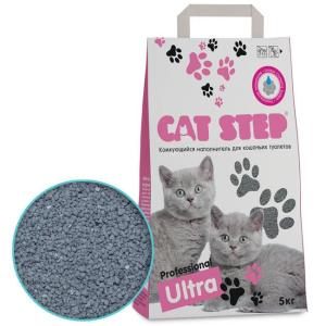 Наполнитель для кошачьего туалета Cat Step Professional Ultra, 5 кг