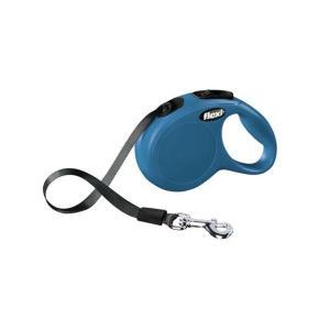 Поводок-рулетка для собак Flexi New Classic XS, синий