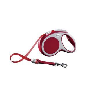 Поводок-рулетка для собак Flexi Vario Tape M, красный