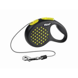 Поводок-рулетка для собак Flexi Design Classic XS, желтый