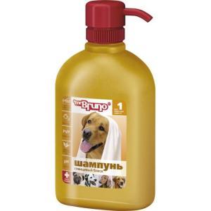 Шампунь-кондиционер для короткошерстных собак Mr. Bruno Глянцевый блеск, 350 мл