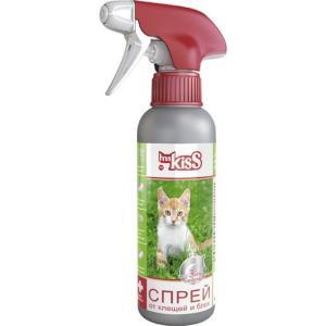Спрей от блох и клещей для кошек Ms. Kiss, 200 мл