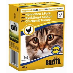 Корм для кошек Bozita Felline Chicken & Turkey, 370 г, курица и индейка