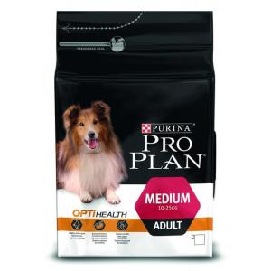 Корм для собак Pro Plan Medium Adult, 3 кг, курица с рисом