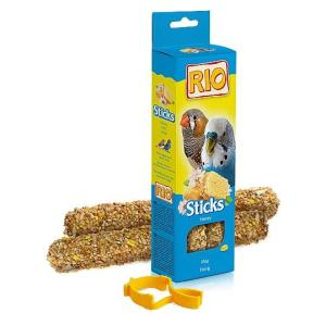 Палочки для волнистых попугайчиков и экзотов Rio Sticks, мед