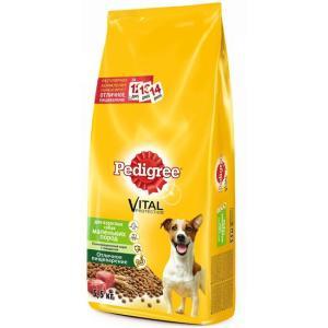 Корм для собак Pedigree Vital Protection, 600 г, говядина