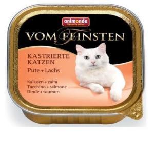 Корм для кошек Animonda Vom Feinsten, 100 г, индейка с лососем