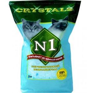 Наполнитель для кошачьего туалета N1, 1.75 кг, 3 л