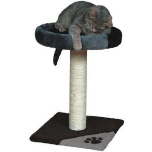 Когтеточка для кошек Trixie Tarifa, размер 35х35х52см., серо-черный