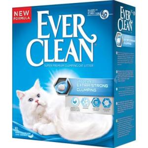 Наполнитель для кошачьего туалета Ever Clean Extra Strong Clumping Unscented, 6 кг