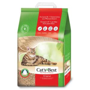 Наполнитель для кошачьего туалета Cat's Best Original, 8.6 кг, 20 л