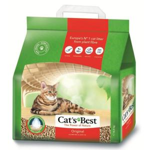 Наполнитель для кошачьего туалета Cat's Best Original, 5.2 кг, 12 л