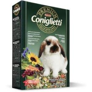 Корм для кроликов Padovan Premium Coniglietti, 500 г, злаки, фрукты