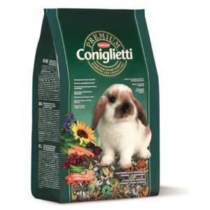 Корм для кроликов Padovan Premium Coniglietti, 2 кг, злаки, фрукты