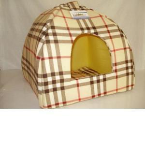 Домик для собак Бобровый дворик, размер 2, размер 42х42х38см., цвета в ассортименте