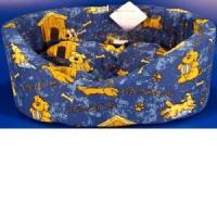 Фотография товара Лежак для собак Бобровый дворик Эксклюзив, размер 1, размер 42х35х16см., цвета в ассортименте