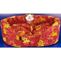 Фотография товара Лежак для собак Бобровый дворик, размер 2, размер 49х38х16см., цвета в ассортименте