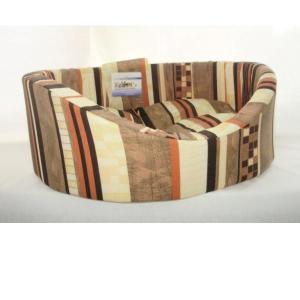 Лежак для собак Бобровый дворик, размер 3, размер 55х43х16см., цвета в ассортименте