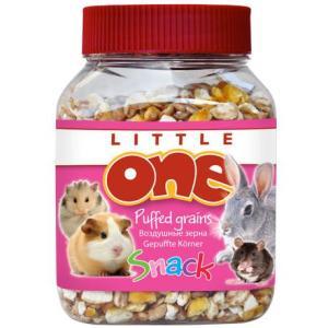 Лакомство для грызунов Little One Puffed grains, 100 г