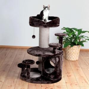 Домик когтеточка для кошек Trixie Emil Senior Cat Scratching Post, размер 69х59х96см., кор / бежевая