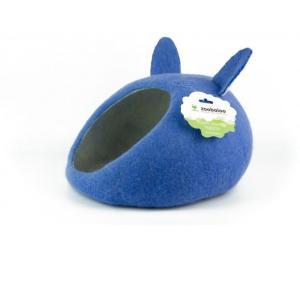 Домик для животных Zoobaloo Уютное гнездышко, размер 40х40х20см., синий