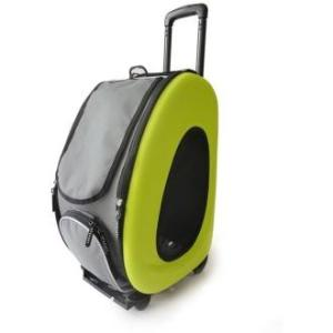 Сумка-тележка для собак Ibiyaya PTY, размер 58х30х34см., лайм