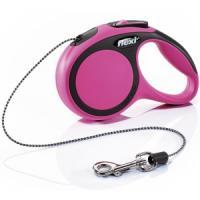 Фотография товара Поводок-рулетка для собак Flexi New Comfort XS, розовый