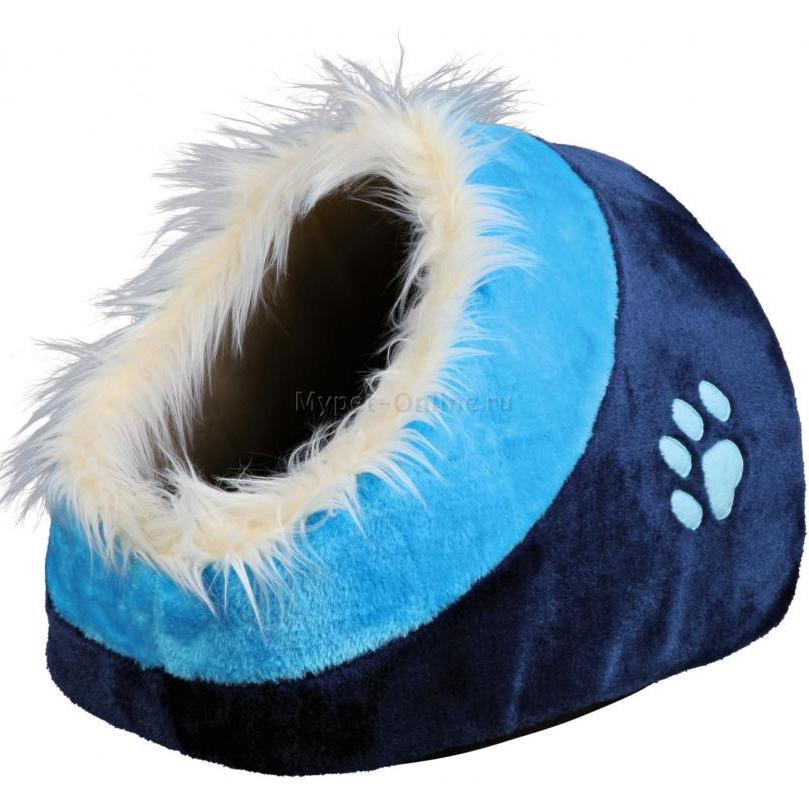 Домик для собак и кошек Trixie Minou, размер 41x35x26см., синий - Интернет зоомагазин MyPet-Online.ru