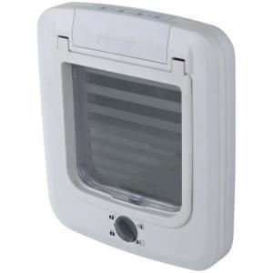Дверца для кошки Trixie Cat Flap, размер 23×26.5см., белый