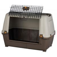 Фотография товара Бокс для собак Trixie Skudo Car 90 M, 6.38 кг, размер 89×62×51см., тёмно-серый / песочный