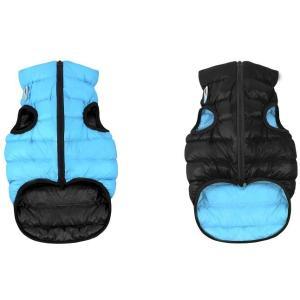 Куртка для собак AiryVest 1635 L, черно-голубой