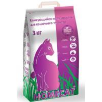 Фотография товара Наполнитель для туалета Homecat, 3 кг