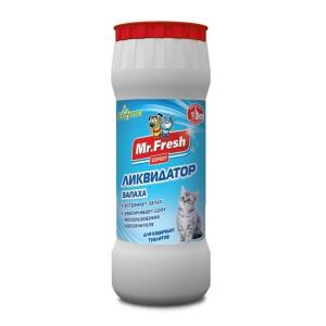 Ликвидатор пятен и запахов для кошачьих туалетов Mr. Fresh Expert 2 в 1