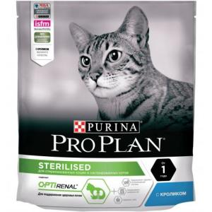 Корм для кошек Pro Plan Sterilised, 400 г, кролик и курица
