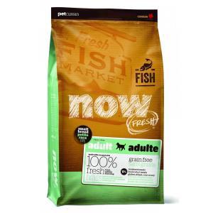 Корм для собак Now Natural Holistic Fresh Small Breed Recipe Fish Grain Free 27/17, 5.45 кг, форель, лосось, овощи