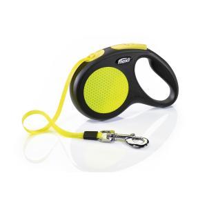 Поводок-рулетка для собак Flexi Neon Safety Plus L