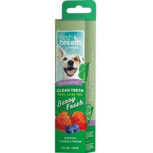 Зубной гель для собак Tropiclean Fresh Breath, 59 мл
