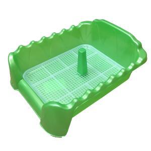 Лоток для собак Homepet, размер 55х40х16см., зеленый