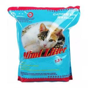 Наполнитель для кошачьего туалета Mimi Litter Голубые гранулы, 3.6 кг
