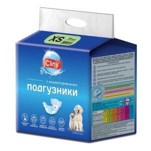 Подгузники для собак и кошек Cliny XS