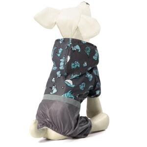 Костюм-дождевик для собак Triol Оригами M, размер 30см.