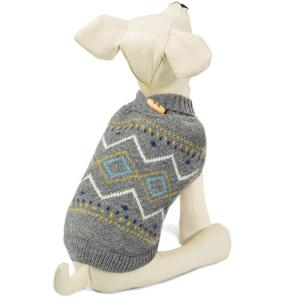 Свитер для собак Triol Геометрия XS, размер 20см.