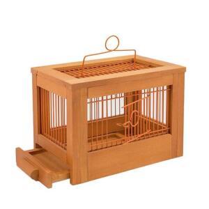 Клетка для птиц Дарэлл Ретро Кантри, размер 47.5х27х32см., клён