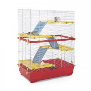 Клетка для грызунов Imac, размер 80х48.5х110см., красный